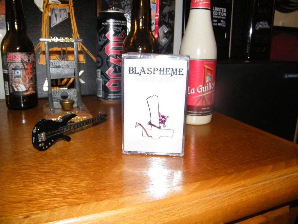 """reédition en cassette BLASPHEME """"désir de vampire"""" Christophe Bailet Dscf7111"""