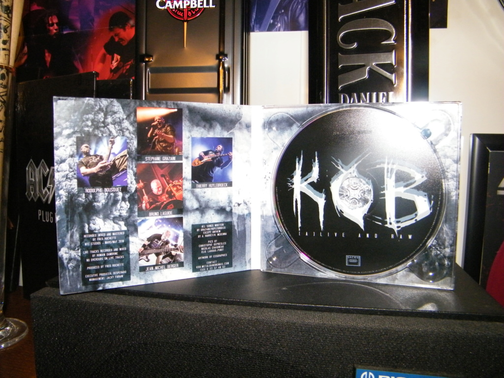 "KOB "" (A) Live And Raw "" heavy metal 2018  Dscf7118"