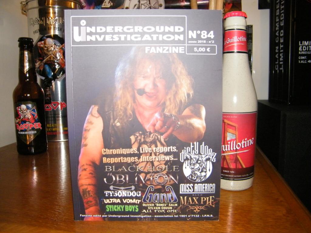 Le fanzine UNDERGROUND INVESTIGATION Dscf7119