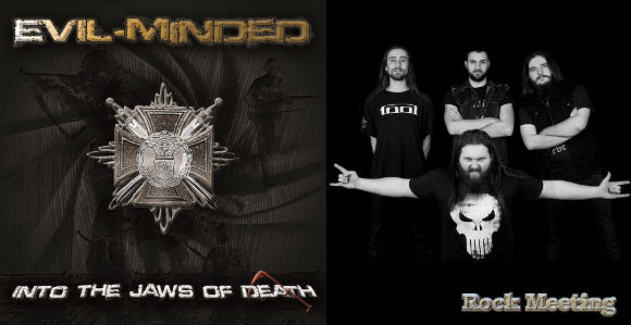 EVIL MINDED Weighing Of The Heart (Démo, 2020) Heavy Metal Toulouse Evil-m10
