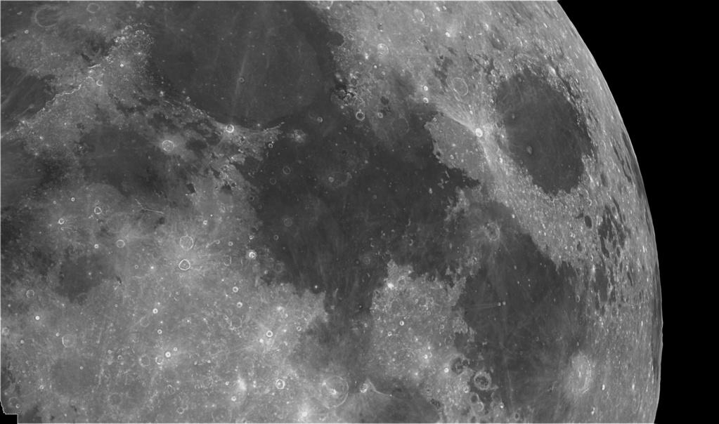 vues lunaires des détails de la panoramique 01183110