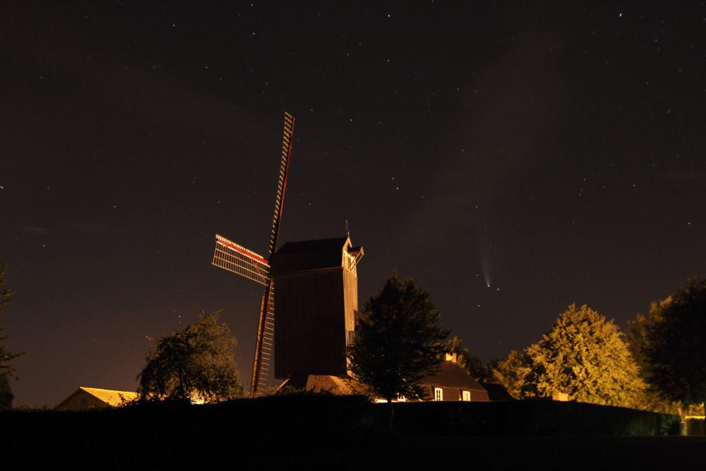 road trip comète neowise hier soir Img_0511