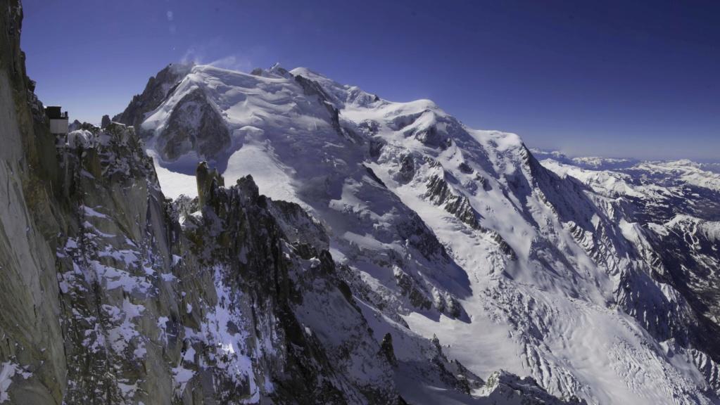 le mont blanc vu de l'aiguille du midi P_mont10