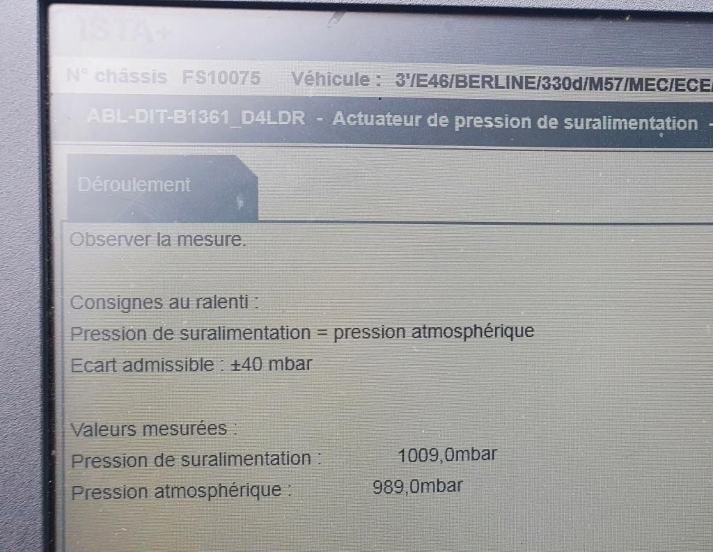 [ Bmw e46 330d M57 an 2001 ] Problème puissance  20210410