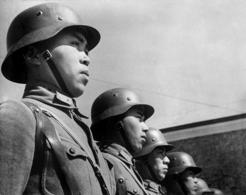 98K du Ehrenbatallion de la Bundeswehr Chines10