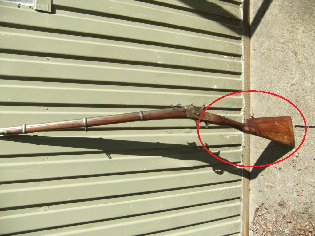 """Remington """"Rolling Block"""" avec 2 détentes Dscf2010"""