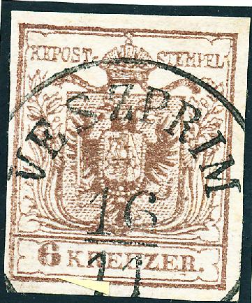 nach - Die erste Österreichische Ausgabe 1850 - Seite 24 6_kreu10