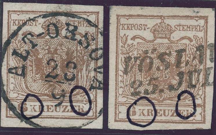 nach - Die erste Österreichische Ausgabe 1850 - Seite 24 9krtyi10