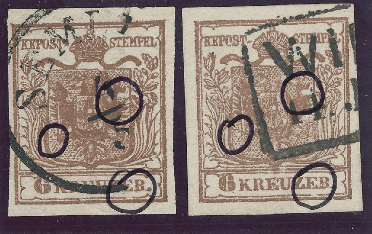 nach - Die erste Österreichische Ausgabe 1850 - Seite 24 9krtyi11