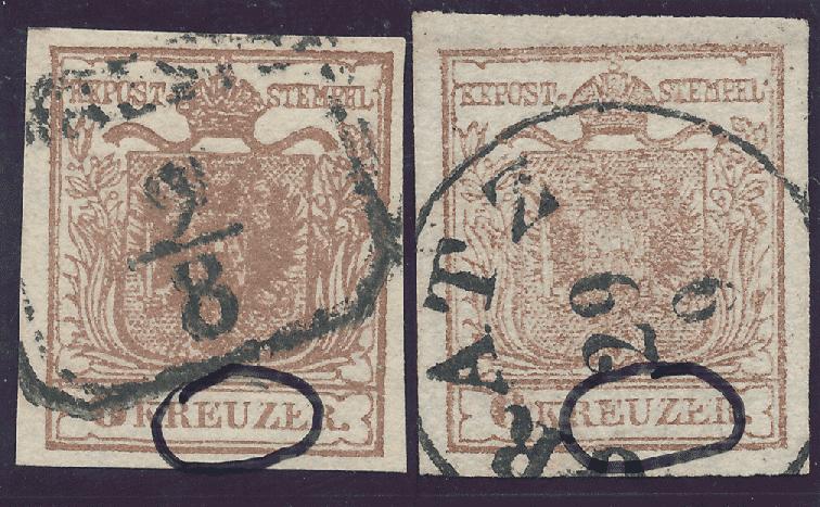 nach - Die erste Österreichische Ausgabe 1850 - Seite 24 9krtyi12