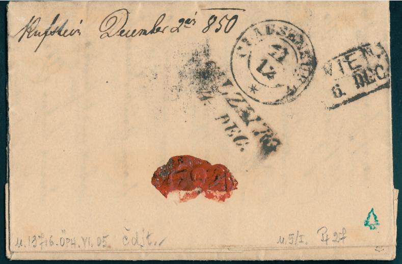 Die erste Österreichische Ausgabe 1850 - Seite 20 Brief_11