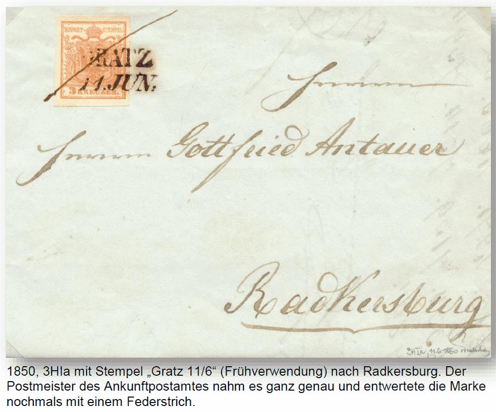 Die erste Österreichische Ausgabe 1850 - Seite 25 Graz11