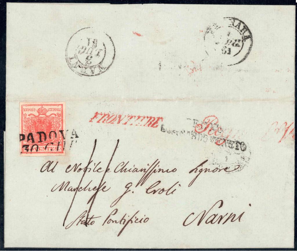 Lombardei - Venetien 1850 - 1858 - Seite 6 Padova10