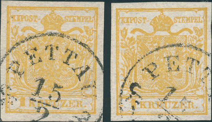 Die erste Österreichische Ausgabe 1850 - Seite 25 Vorder10