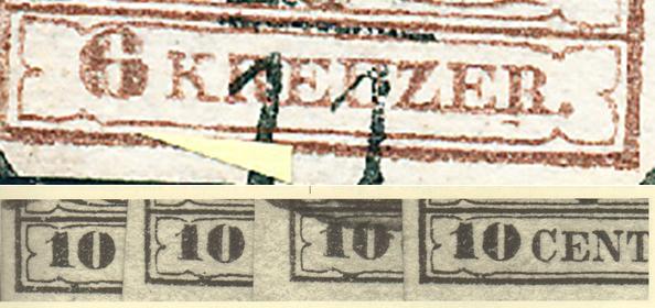 nach - Die erste Österreichische Ausgabe 1850 - Seite 24 Zierli11