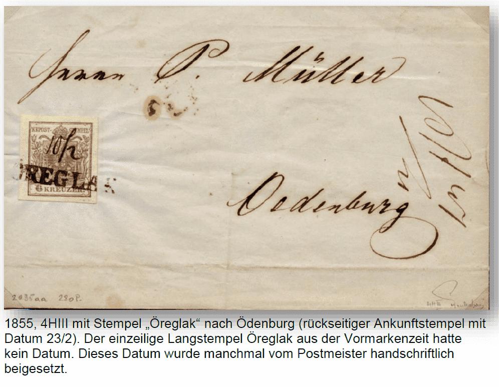 Die erste Österreichische Ausgabe 1850 - Seite 25 Zregla12
