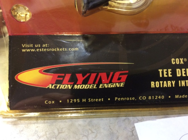 Flying Action Model Engine ! Estes version Ae44d810