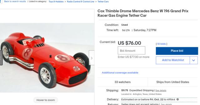 Mercedes Benz Grand Prix Racer found. Screen64
