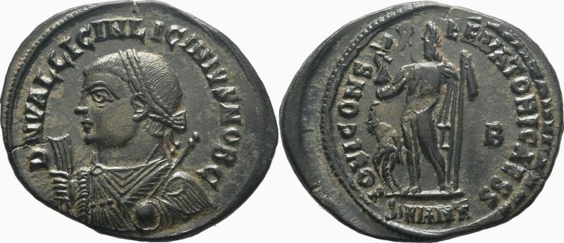LICINIUS II - IOVI CONSERVATORI CAESS  B - ANTIOCHE 2018-013