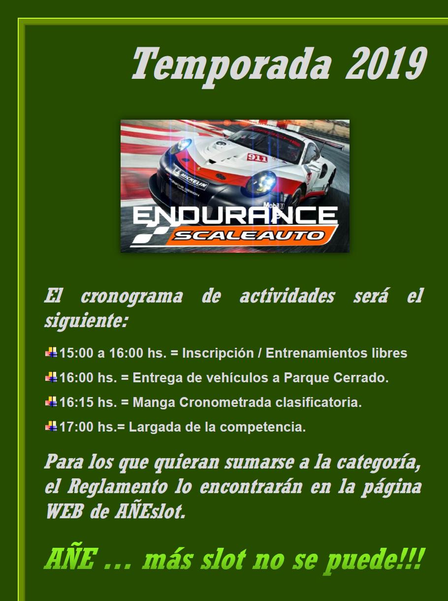 Endurance SCALEAUTO ▬ 5° Ronda ▬ V. TÉCNICA ▬ CLASIFICACIÓN OFICIAL Endura10