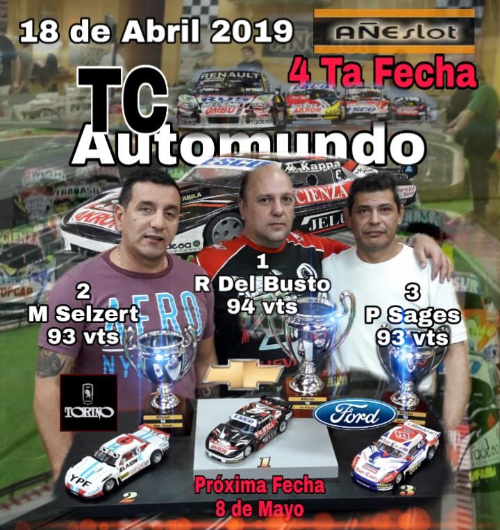 TC AUTOMUNDO ▬ 4° Ronda ▬ V. TÉCNICA ▬ CLASIFICACIÓN OFICIAL Img-2144