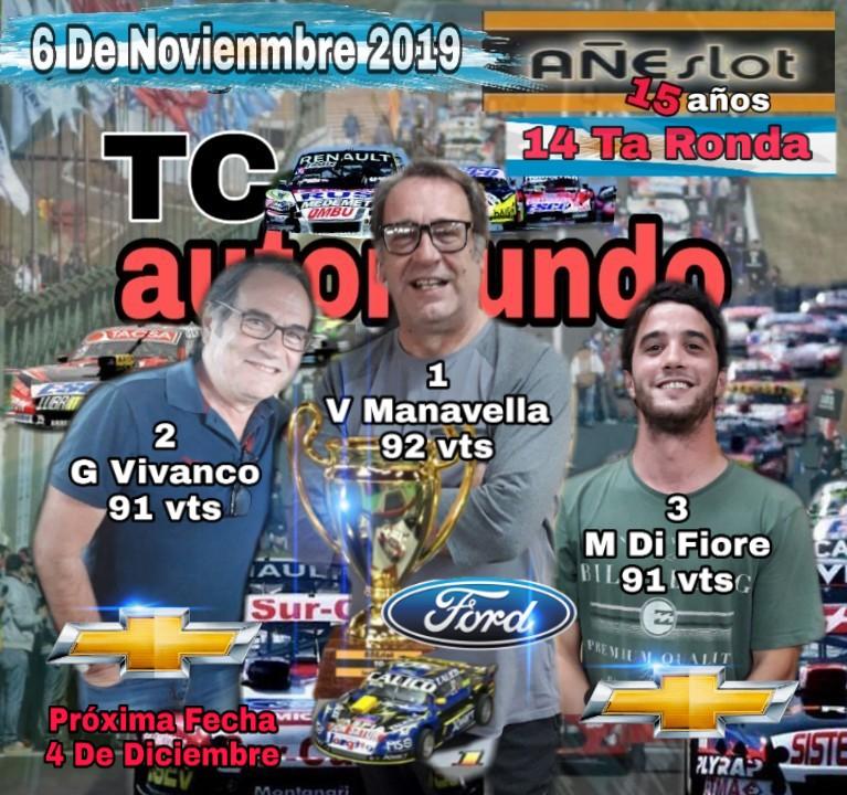 TC AUTOMUNDO ▬ 14° Ronda ▬  V. TÉCNICA ▬ CLASIFICACIÓN OFICIAL Img-2370