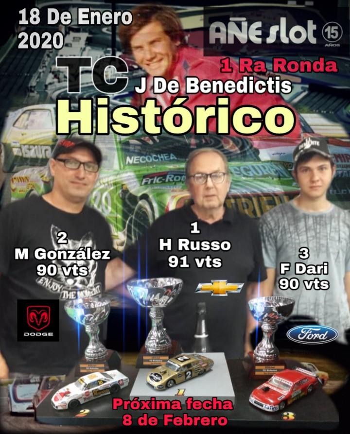 "TC Histórico Torneo ""Johnny"" De Benedictis ▬ 1° Ronda ▬ V. TÉCNICA ▬ CLASIFICACIÓN OFICIAL Img-2470"