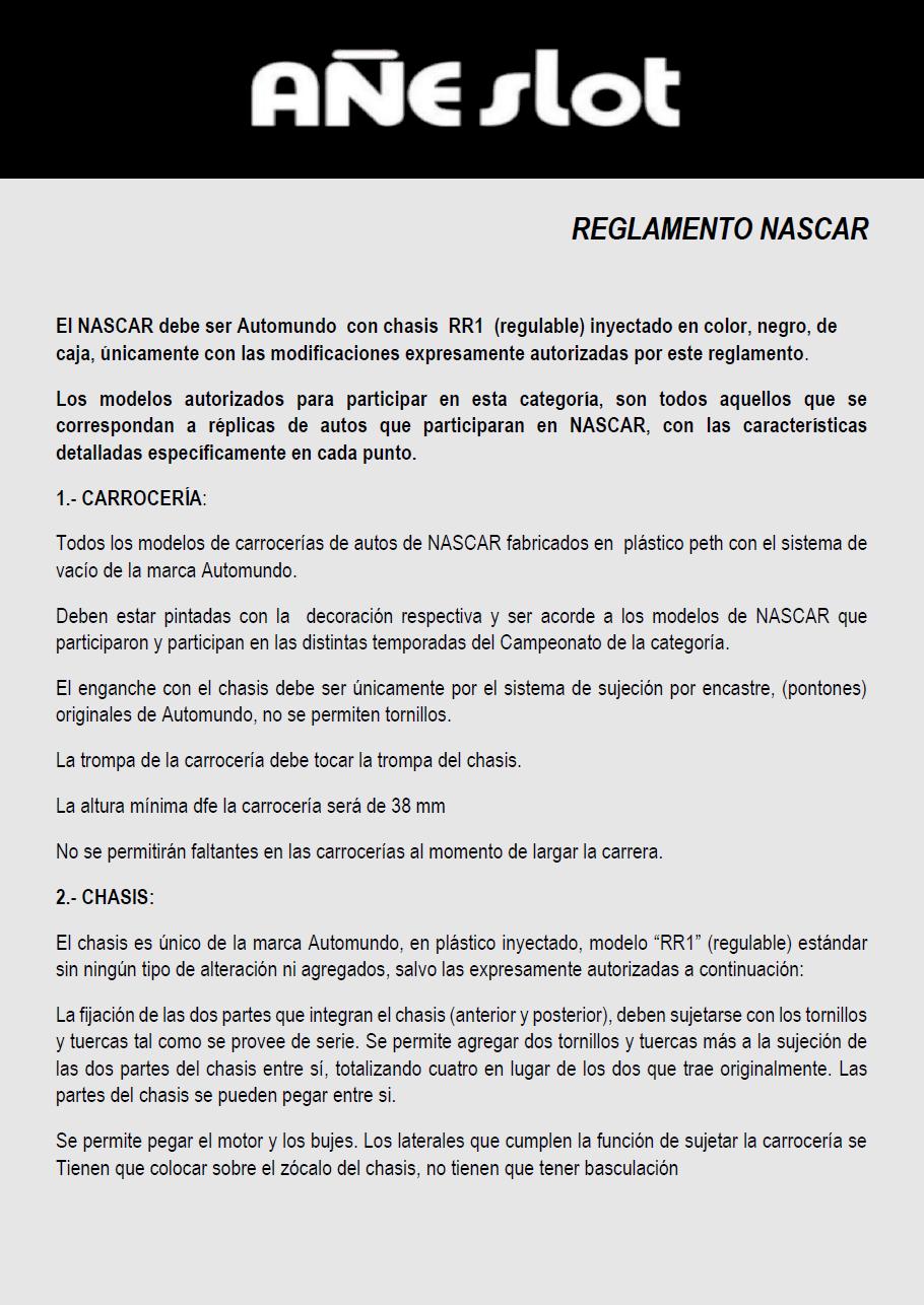 Reglamento NASCAR Pagin135