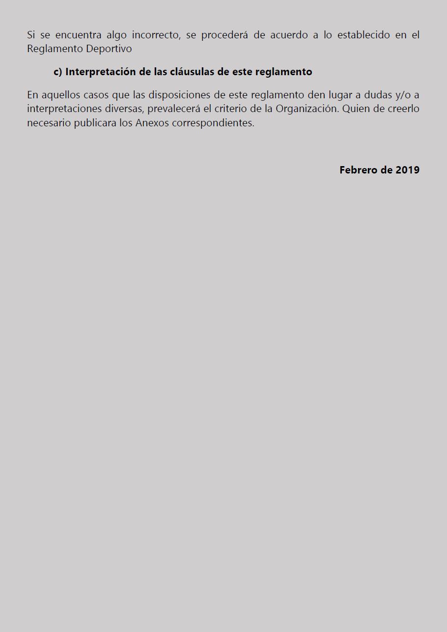 Temporada 2019 // Reglamento Técnico COPA SCALEXTRIC Pagina17