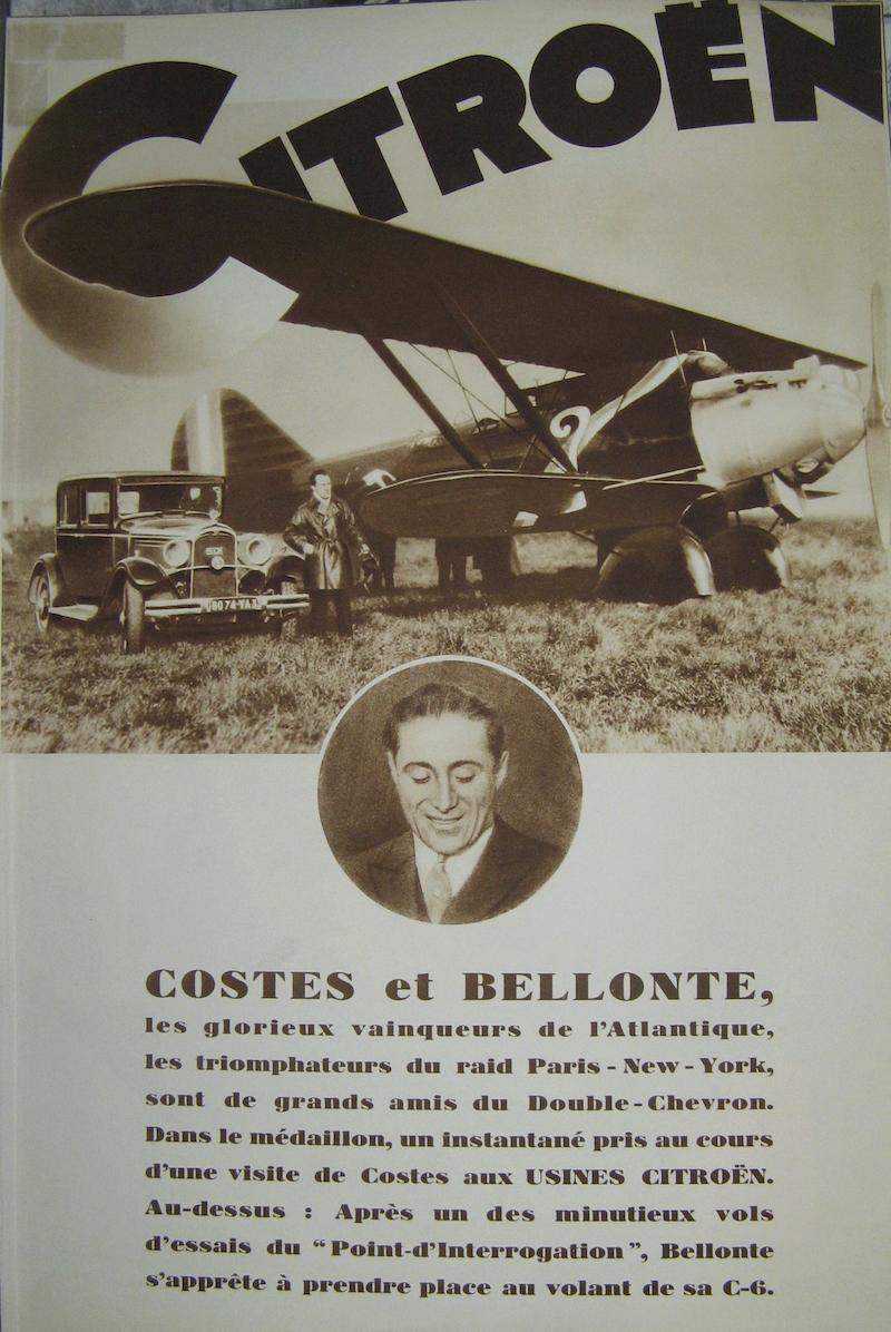 Les Aviateurs Costes et Bellonte en CITROËN C6F C6_et_10