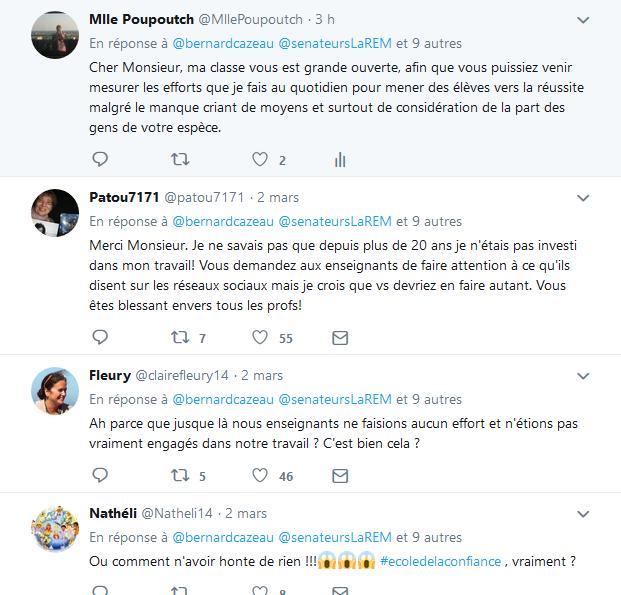 Le sénateur LaREM Bernard Cazeau sous-entend que les profs ne font pas d'efforts. - Page 3 Twittr10