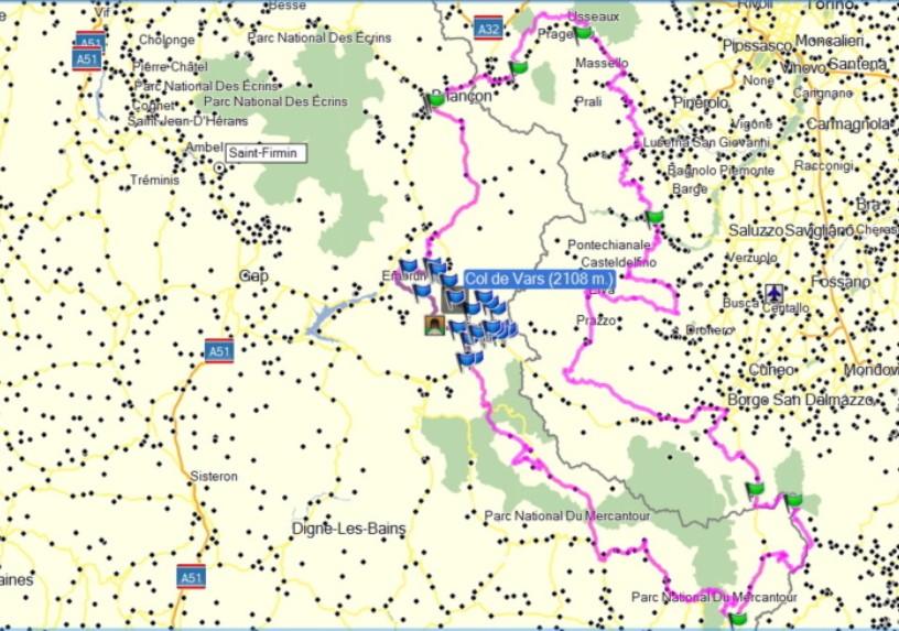 Roadtrip Alpes Fr et It par les pistes du 13 au 16 août 2020 Carte_12