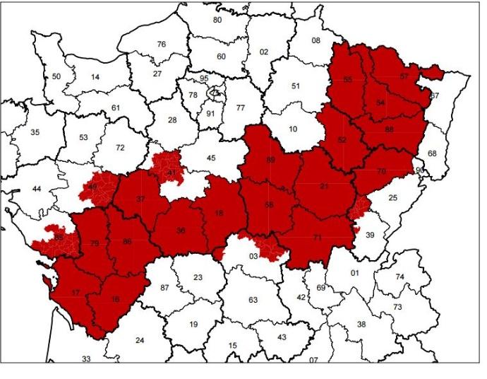 Du tournesol en place du colza dans les Plateaux de Bourgogne et du Barrois. - Page 2 Carte_10