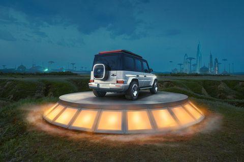 2021 - [Mercedes] EQG Concept 08131410