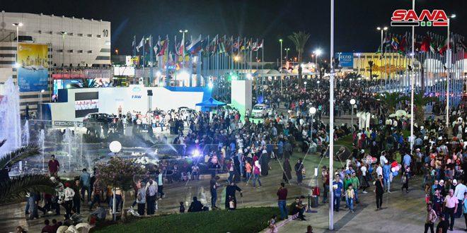 لقطات من معرض دمشق الدولي 2019 1-531-10