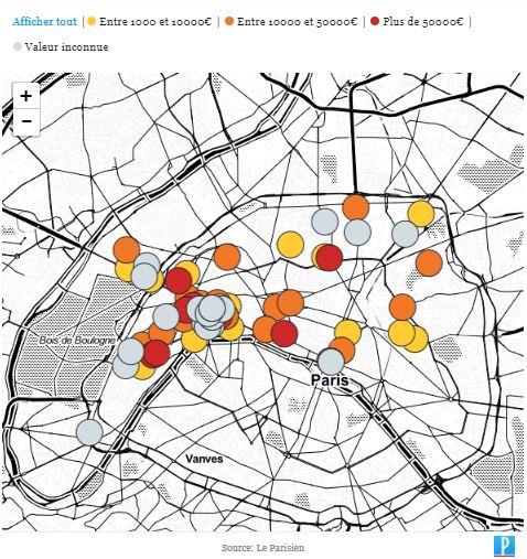Actu: Notre carte exclusive des vols de montres de luxe à Paris Carte_10