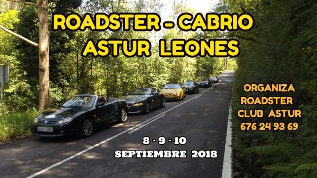 7 ROADSTER-CABRIO ASTUR-LEONES 2018 Cartel10