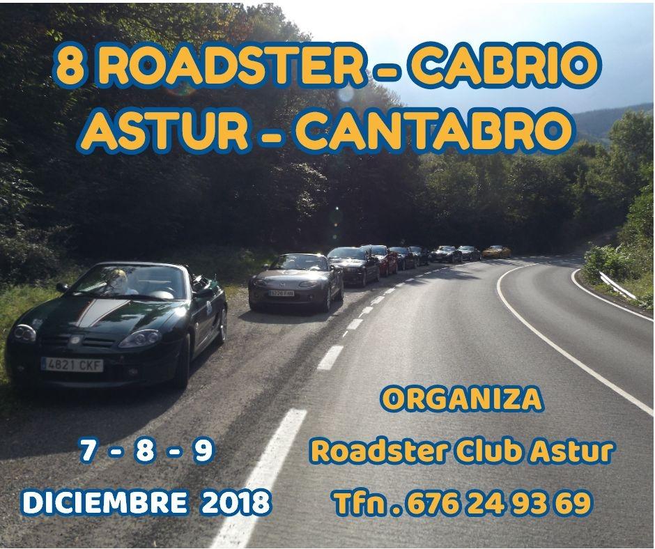 8 ROADSTER-CABRIO ASTUR-CANTABRO 2018 Cartel11