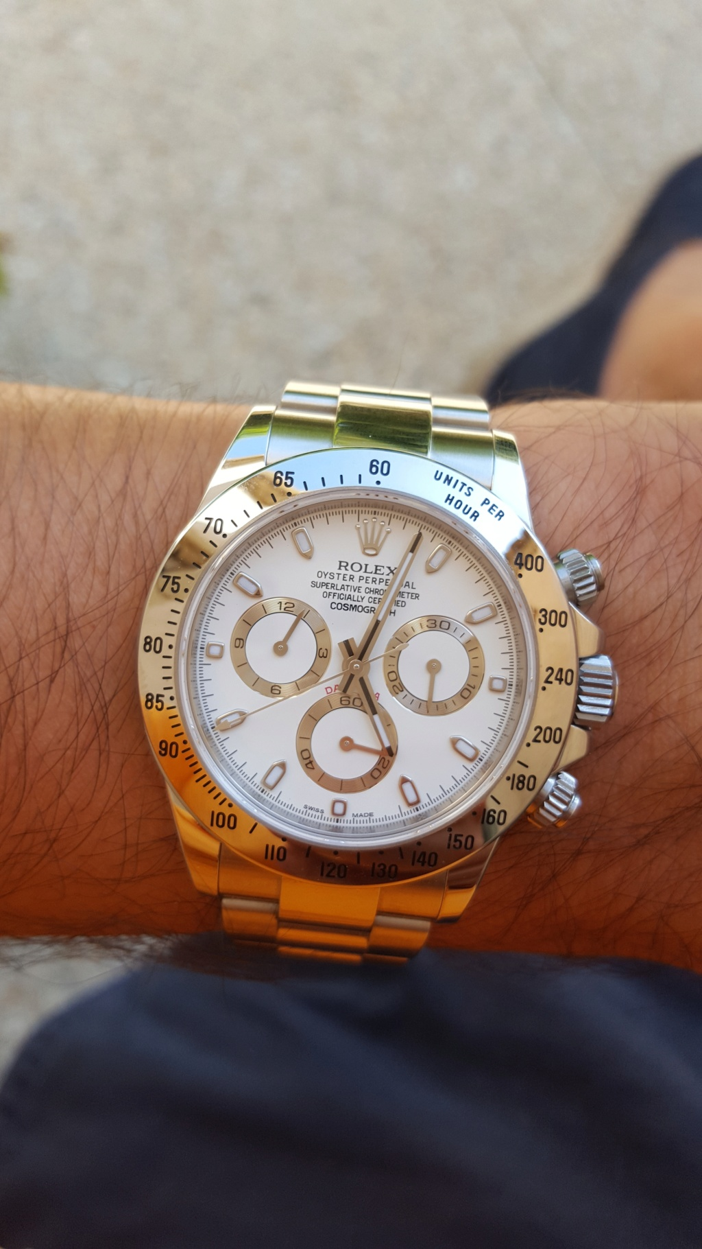 Daytona - Audemars RO / hublot Big Bang / rolex Daytona  20160910