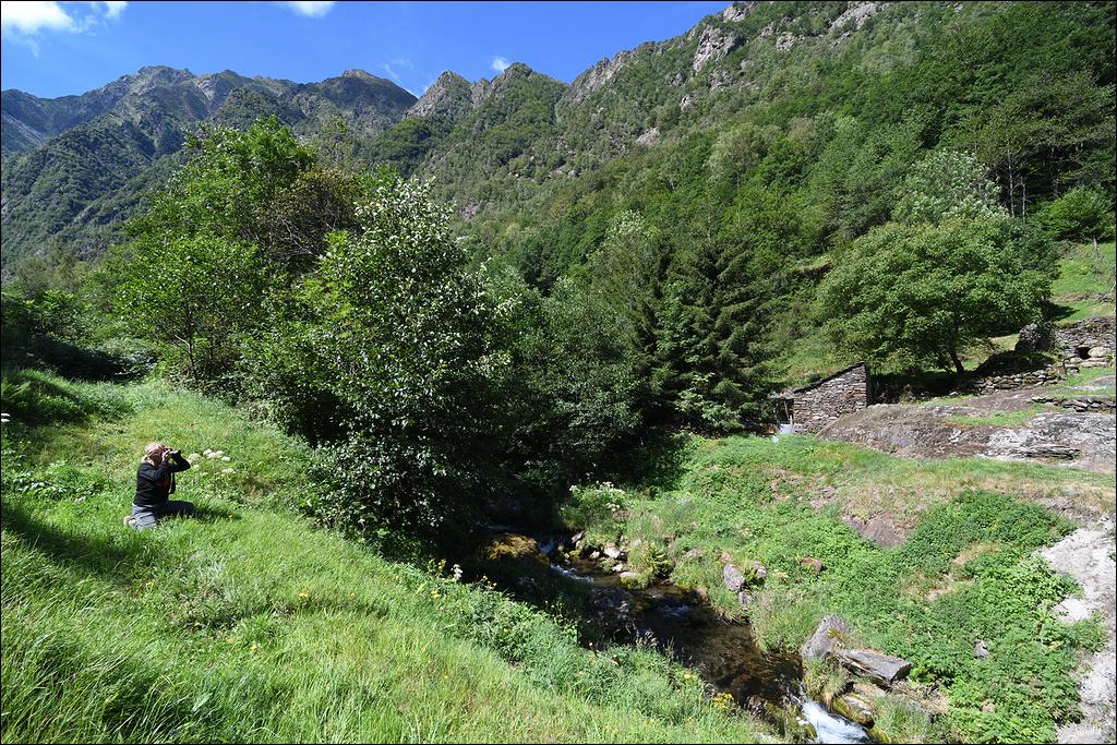 Mounicou, village Ariégeois dans les montagnes d'Auzat Lmb_7117