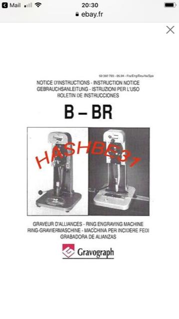 Notice de fonctionnement et d'utilisation  Gravograph B Img_2111