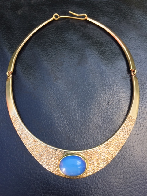 Collier Torque bronze  Img_2210