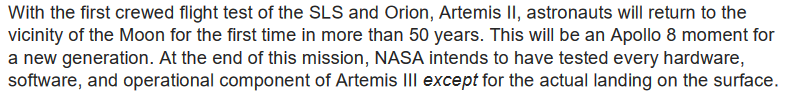 SLS block 1 (Orion Artemis-2) - 2023 Artemi11