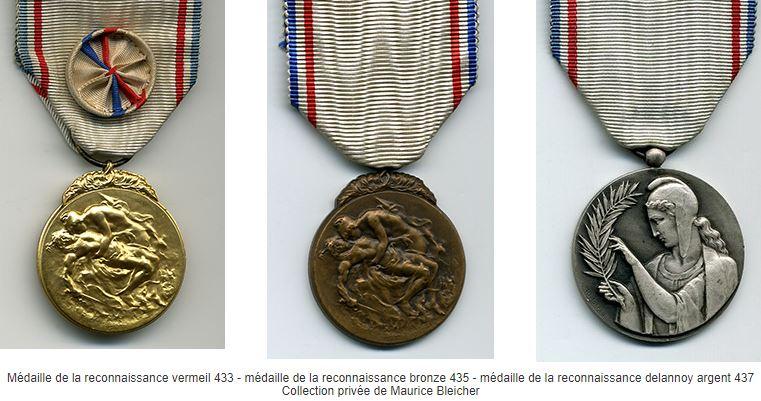 La Médaille de la reconnaissance française Mesa10