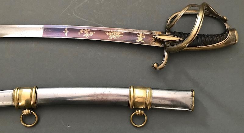 Les sabres d'officier de cavalerie légère à la chasseur Image210