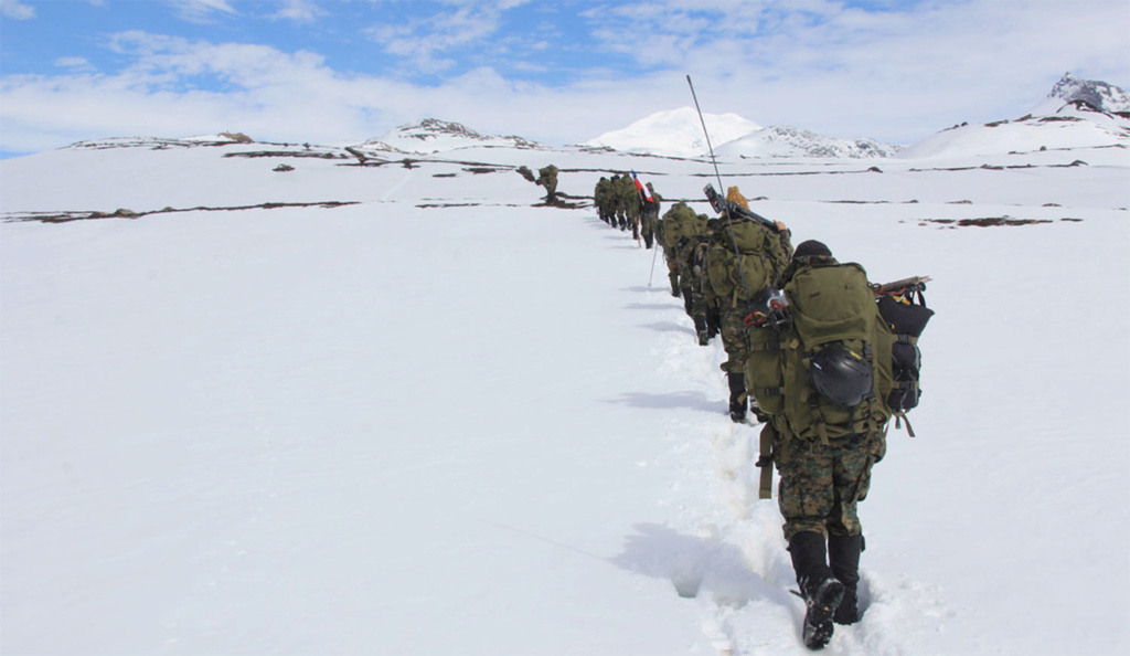 Ejercicios del Ejército argentino, provoca malestar en Chile 00003110
