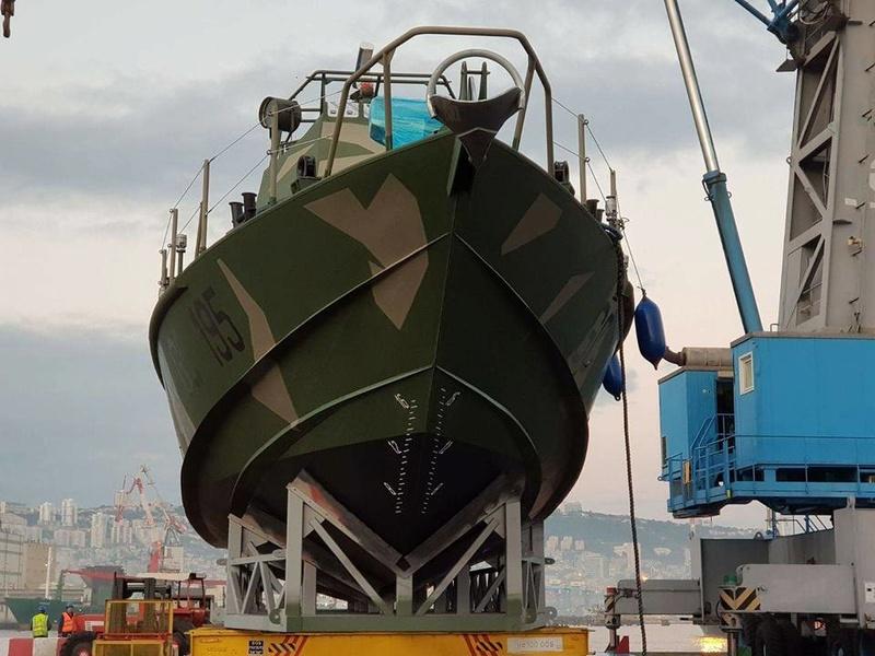 Lanchas rápidas clase Shaldag Mk II de la Prefectura Naval Argentina 11010