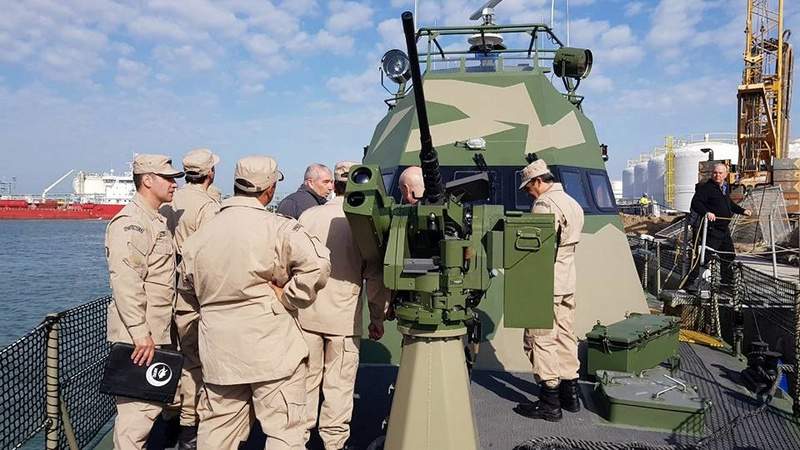 Lanchas rápidas clase Shaldag Mk II de la Prefectura Naval Argentina 28377510