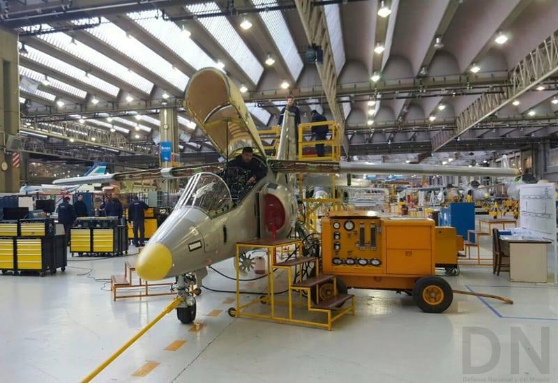 FAdeA finalizó el proceso de certificación de su avión Pampa III  37264410