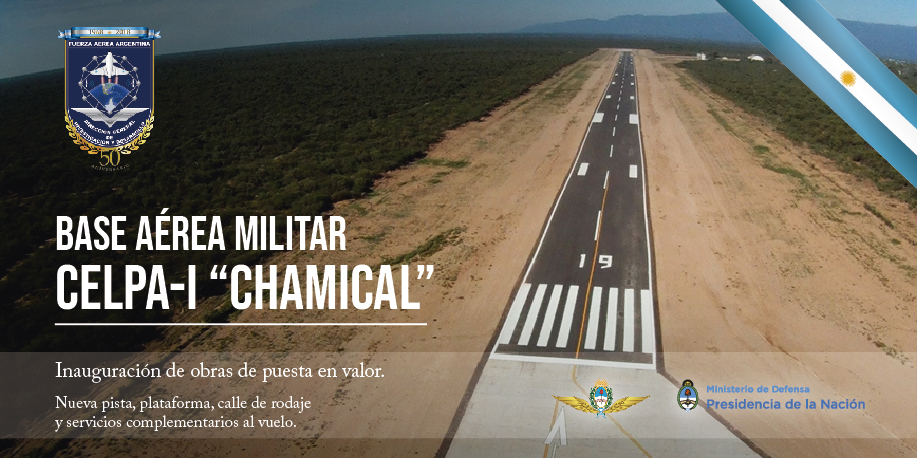 Base Aérea de Chamical, reabre sus puertas a los nuevos RPAS Base_c10